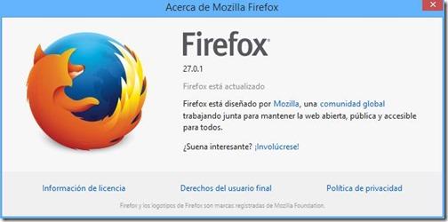 firefox 27.0.1