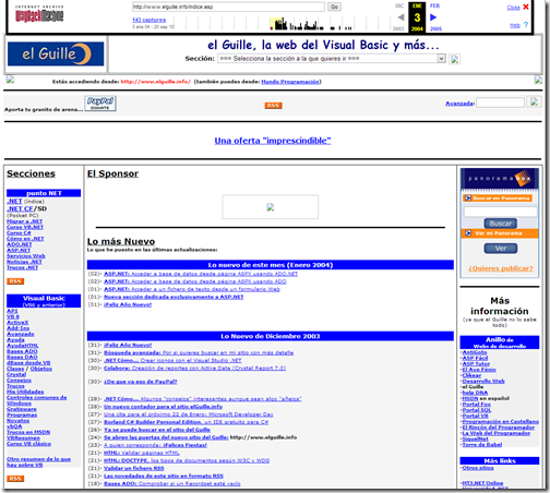 04 01 03 - el Guille   La Web de la programación...  en elGuille.info
